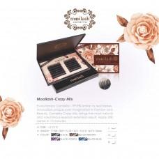 Mooilash Crazy Mix / C CURL / BROWN